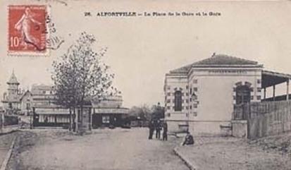 alfortville gare maisons-alfort - alfortville
