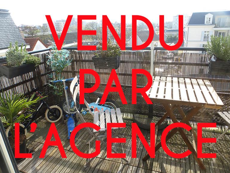 MAISONS-ALFORT Centre – RESIDENCE 2015 – Appt 3P – DERNIER ETAGE – TERRASSE.