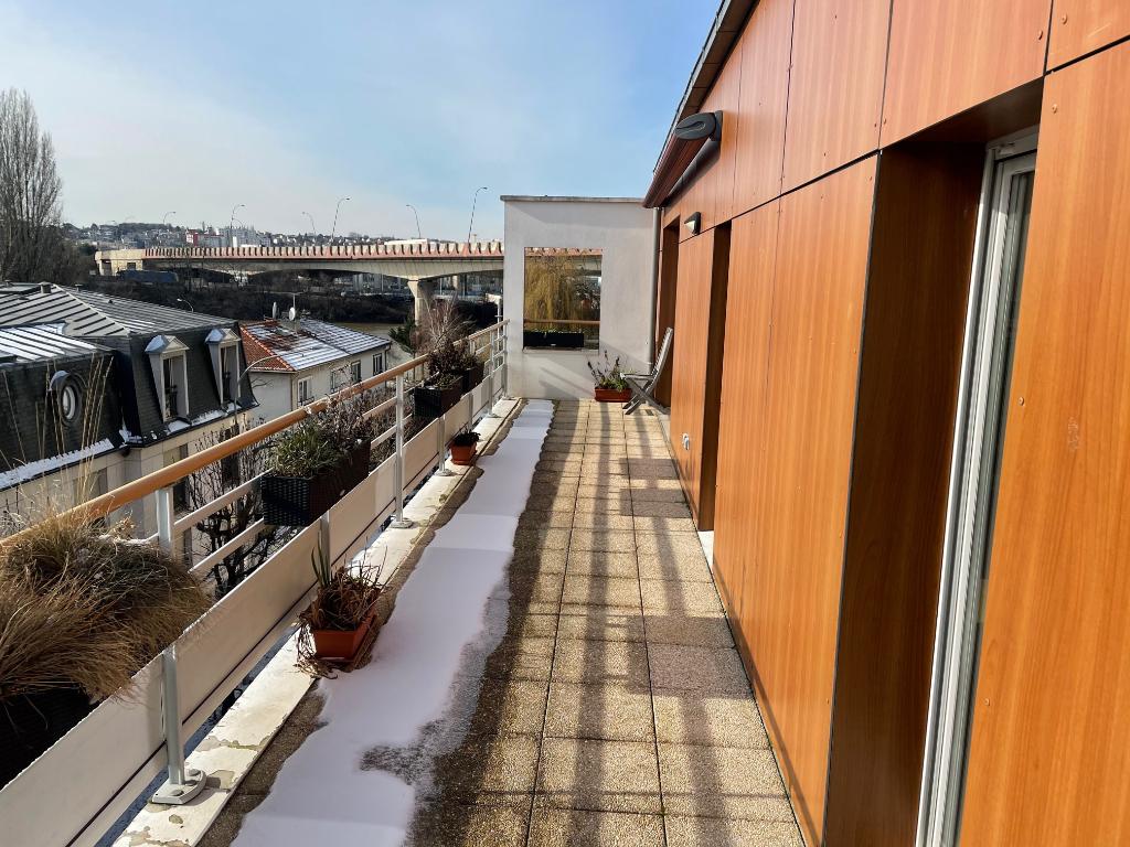 CHOISY LE ROI – LIMITE ALFORTVILLE / 98m² – Terrasse 30m²